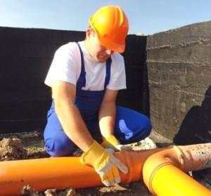 Величины уклонов труб в канализации