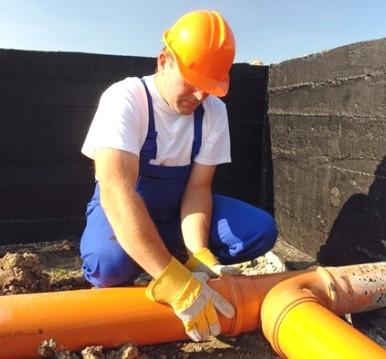 Величины уклонов канализационных труб