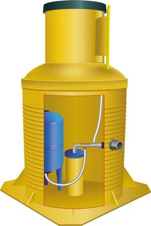 особенности и стоимость кессонов для установки в скважину