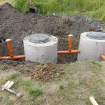 Септик своими руками из бетонных колец - технология установки