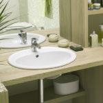Врезная раковина для ванной - особенности, отличительные характеристики