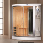 Душевая кабина с сауной для квартиры - особенности моделей, критерии выбора