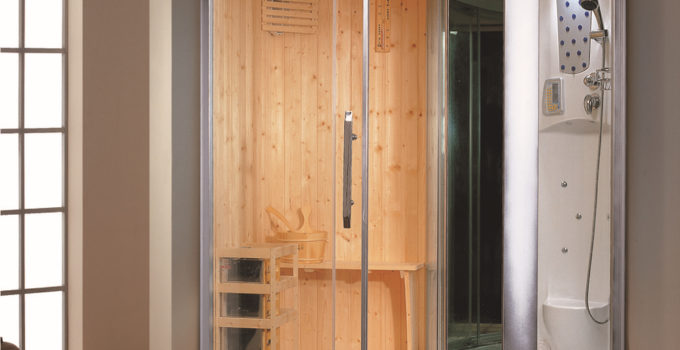 Душевая кабина с сауной для квартиры